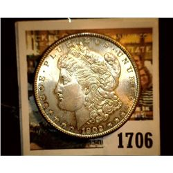 1706 _ 1902 O U.S. Silver Morgan Dollar, Choice BU 63.