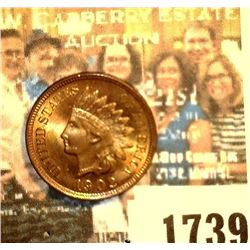 1739 _ 1902 U.S. Indian Head Cent. Originally purchased from Sleepy Hollow Coins as Gem MS65.