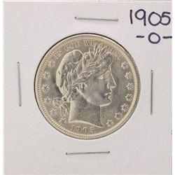 1905-O Barber Half Dollar Coin