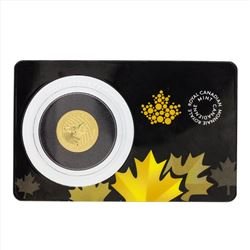 2015 Canada 1/10 oz Gold Howling Wolf .99999 BU Coin