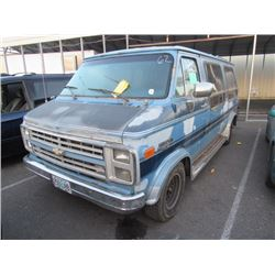 1989 Chevrolet Sportvan