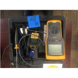 Fluke Earth/ground tester,(megohmmeter, Model 1520)with tool bag and portable cables