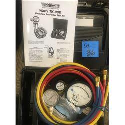 Watts TK-99E Back Flow Preventer Test Kit