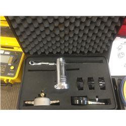 Pollard water. Hydrant Flow regulating Testing kit, w/case