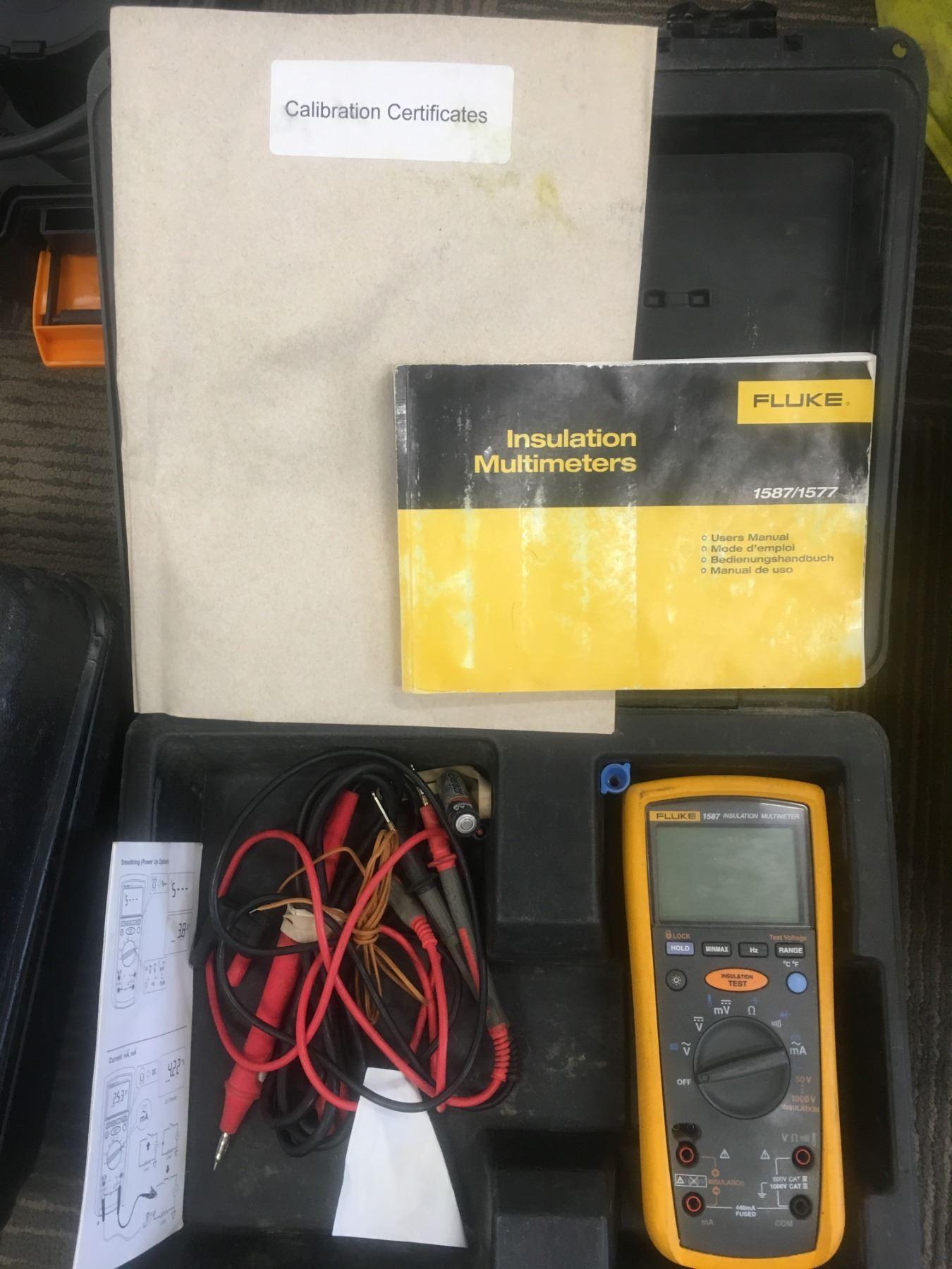 Wire Insulation Tester | Fluke 1587 1577 Insulation Tester