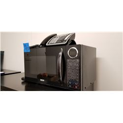 RCA Black Microwave model # RMW-935  Vac 120V, plus RCA answering phone with cordless phone model# T