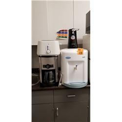 Hamilton Beach can opener/Avalanche water dispenser/PC coffee maker