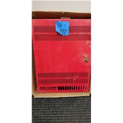 Red Power Booster Power Supply For Fire Alarm