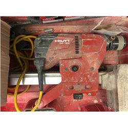 HILTI DD120 Diamond Coring + Drilling Tool w/ Attachments