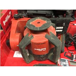 HILTI PRI 36 Plus 3 Power Rotary Laser w/ Attachments PRA72 + 14BX HILTI GC 22 Plus 2 BX 3/8' Clamps
