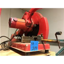 Milwuakee Steel cutting chop saw