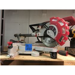 King Sliding Dual Compound Mitre Saw w/ Twin Laser guide system