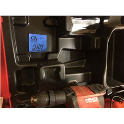 1- HILTI SFBT22A Drill w/ Charger