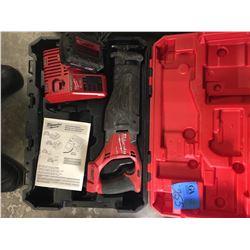 1- Milwaukee Fuel Sawzall W/Battery