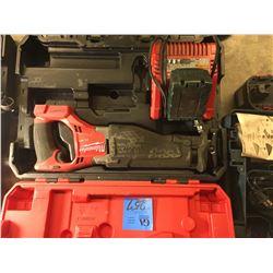 1-Milwaukee SawZall W/ Battery