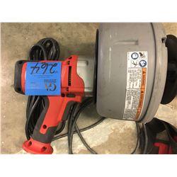 1- Ridgid Drain Cleaner -  MODEL# K45 (Power Router)