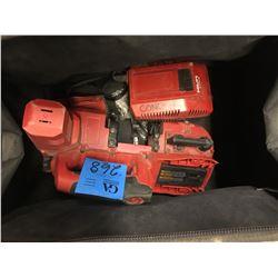 1- HILTI SB4 - A22 Cordless Bandsaw w/ Battery + Case