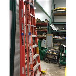 Sturdy 10Ft + 6Ft Ladder
