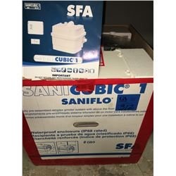 New SFA SANI Cubic 1, Model 1H.P, IP68 Lift Station(Designed to evacuate Effluent)