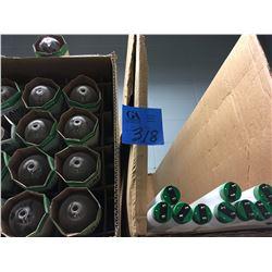 Various Commerical light bulbs, 25 Philips C-70-5-62, 8 CS of Fluorescent Bulbs