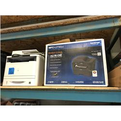 Dell 2355 DM Printer, Canon Image Class F161302 Printer, Brother MFC-L2740 All In One Laser