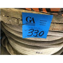 "Large Reel Approx 1500ft of tug rope 1"". For Pullers"