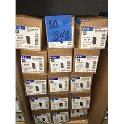 24 - 15AMP Duplex Circuit Breakers