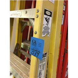1- Werner + 1- Louisville 6' Ladders