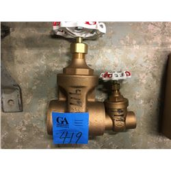 2- Toyo Fig 207A Gate Valves