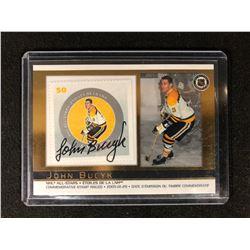 JOHN BUCYK 2005 NHL ALL STARS PACIFIC CANADA POST STAMP #36