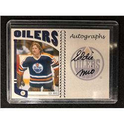 2004-05 ITG FRANCHISES SERIES ED MIO AUTOGRAPHED HOCKEY CARD