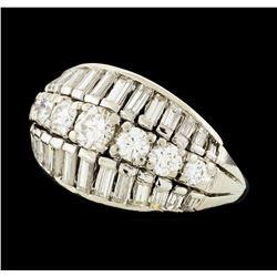 1.23 ctw Diamond Ring - Platinum