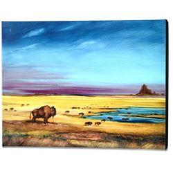 Where the Buffalo... by Katon, Martin