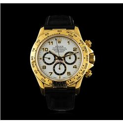 Rolex 18K Yellow Gold Daytona Men's Watch