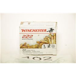 Box of Winchester 22 HP