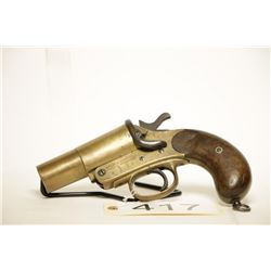 Webley and Scott Brass Flare Gun