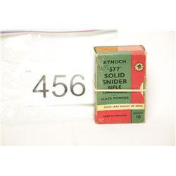 Antique Kynoch Ammo