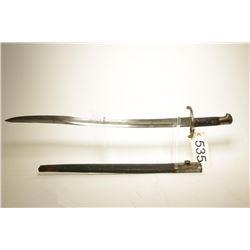 British 1853 Pattern Yataghan Sword Bayonet