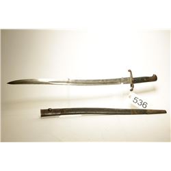 British 1853 Pattern Yataghan Sword Bayonet