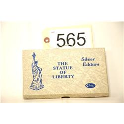 Statue of Liberty 100 Year Commemorative Knife and Coin Set