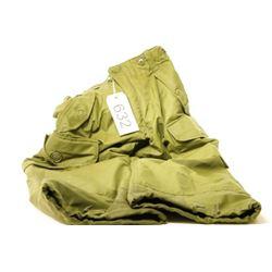 Green Surplus Windbreaker Pants