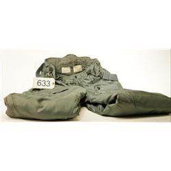 Grey Surplus Overall Winter Pants