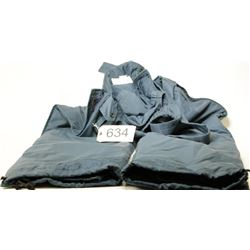 Blue Surplus Overall Snow Pants