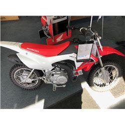 NEW 2018 HONDA CRF110FJ OFF ROAD MOTORCYCLE