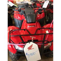 2014 HONDA NEW  RANCHER AT TRX400FAE ATV