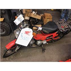 HONDA VINTAGE CT110 ON/OFF ROAD MOTORCYCLE
