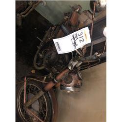 HONDA VINTAGE 1965 CA77 305 SUPER HAWK MOTORCYCLE PARTS/NEEDS REPAIR
