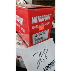 NEW MOTORSPORT GTX145-BS BATTERY