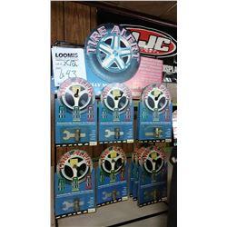 TIRE ALERT COLOR CHANGE AIR  PRESSURE MONITOR X 12 / $9.99 EA