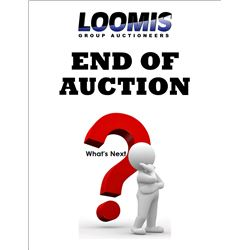 THIS AUCTION SESSION IS OVER, WHAT IS NEXT ?